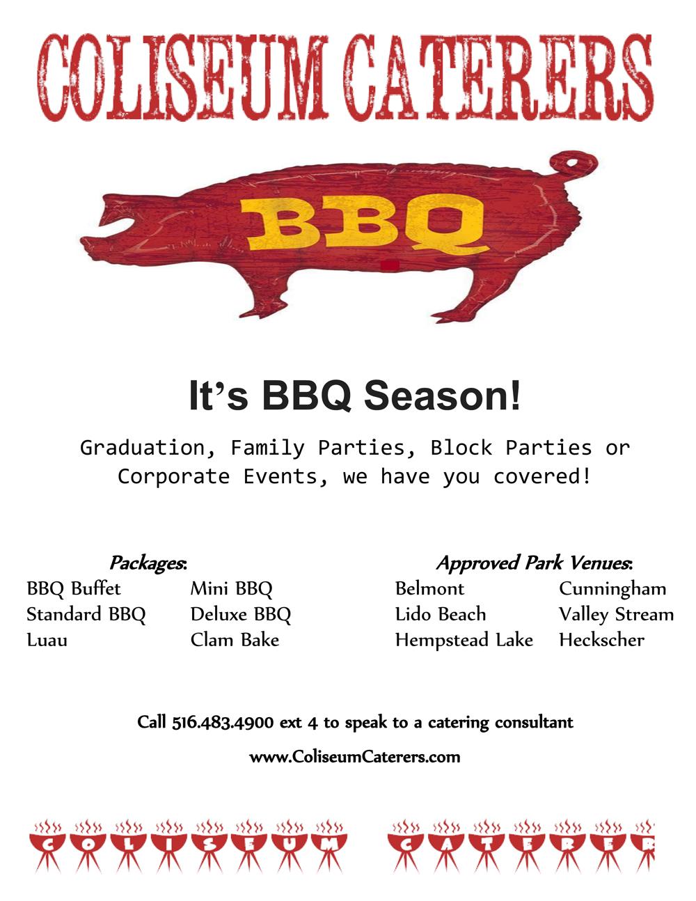 Specials | Coliseum Kitchen & Caterers